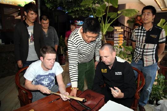马克签名版背包