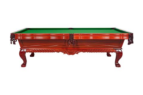 星牌中式臺球桌XW8105-9A 紅木雕刻臺球桌 家用定制臺球桌