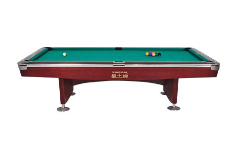星牌美式台球桌XW136-9B 花式九球台球桌 公开赛台球桌