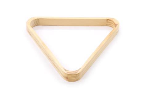 星牌摆球架 木制台球三角架 摆球框 中式斯诺克三角架