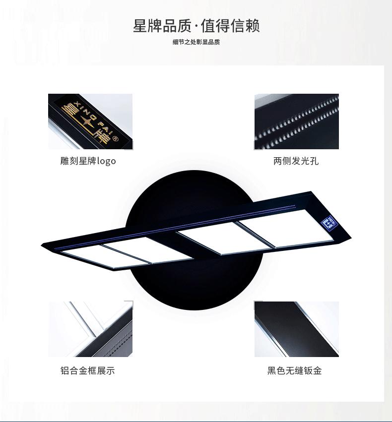 星牌中式H4041无影灯 标准球台灯具 台球桌无影灯 桌球LED灯具