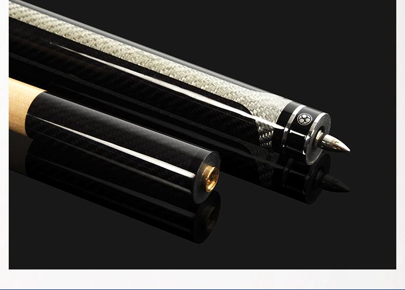 星牌美洲豹中式台球杆SNKP-BW1 美式台球杆 11.5mm台球杆