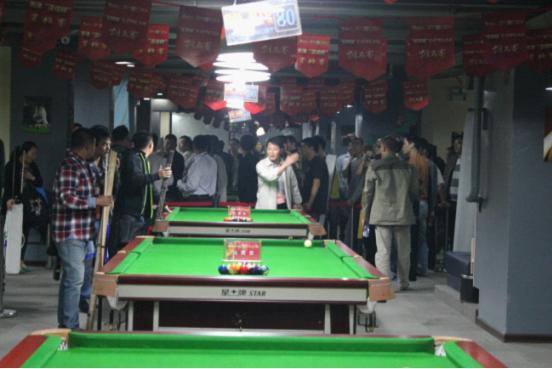 全国中式台球排名赛浙江分站赛天津资格赛