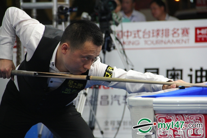 黑龙江名将于庭与天津好手周全会师决赛
