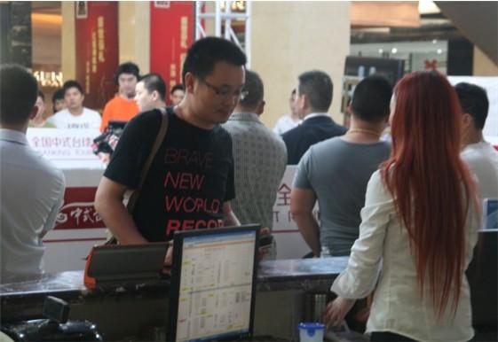 中式台球排名赛观赛球迷在赛事举办地现场消费