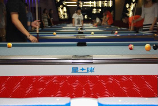 2俱乐部配置了世界九球锦标赛使用的比赛用台