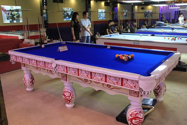 全国中式台球排名赛决赛用台---龙行天下
