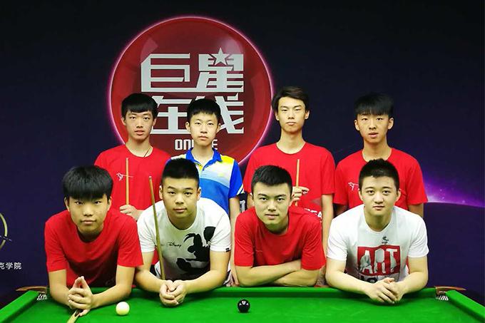 中国选手提前集训备战世青赛