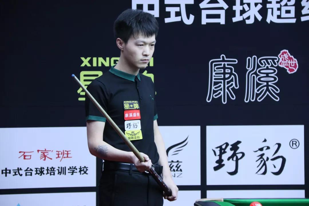 """019星牌杯中式台球超级对抗赛晋级表"""""""