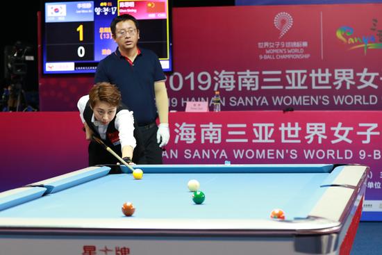 世界女子9球锦标赛双败阶段表 中国金花传捷报