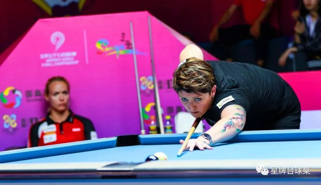 [Women's 9-Ball World Championships] After Kelly Fisher was sealed, Zhou Doudou won third place