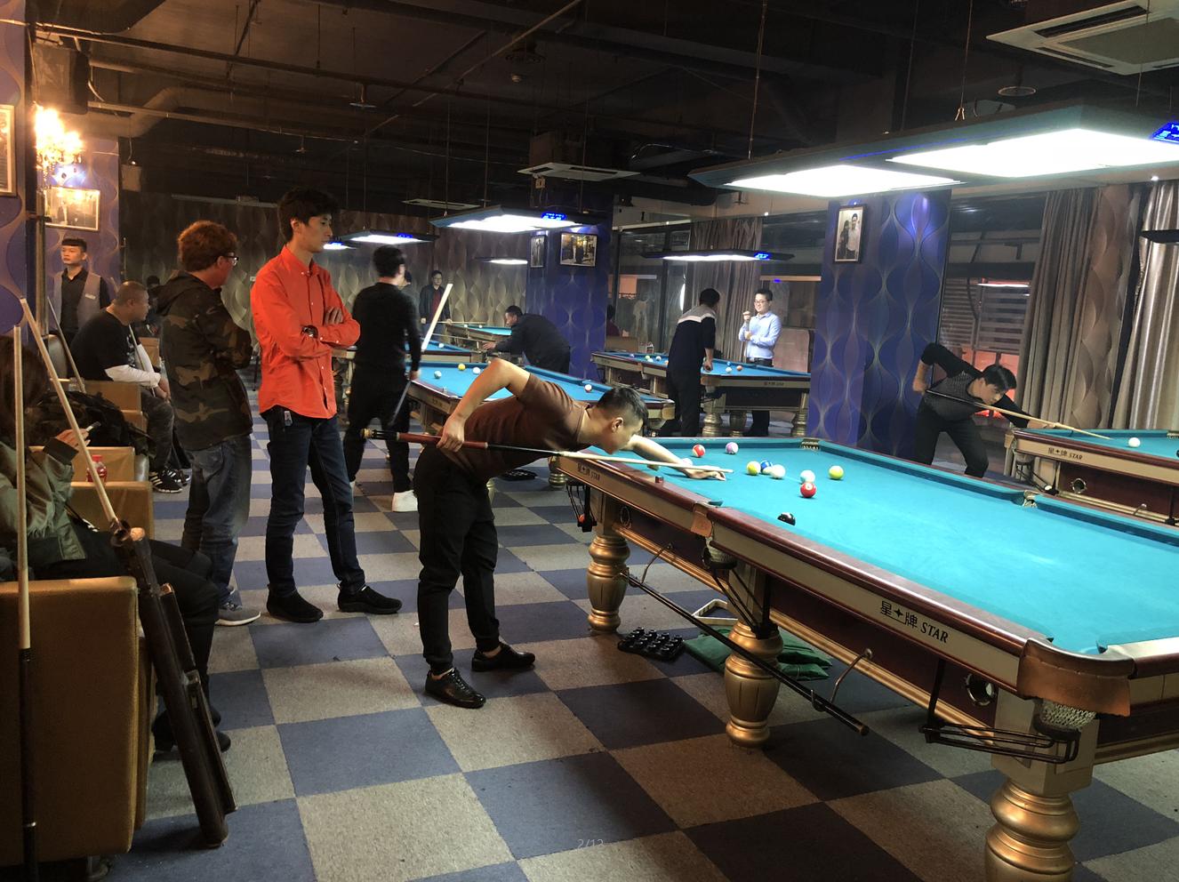【Star Alliance】Nanjing Zhonghua Road Night Fashion Billiards Club_Xingpai League Ball Room