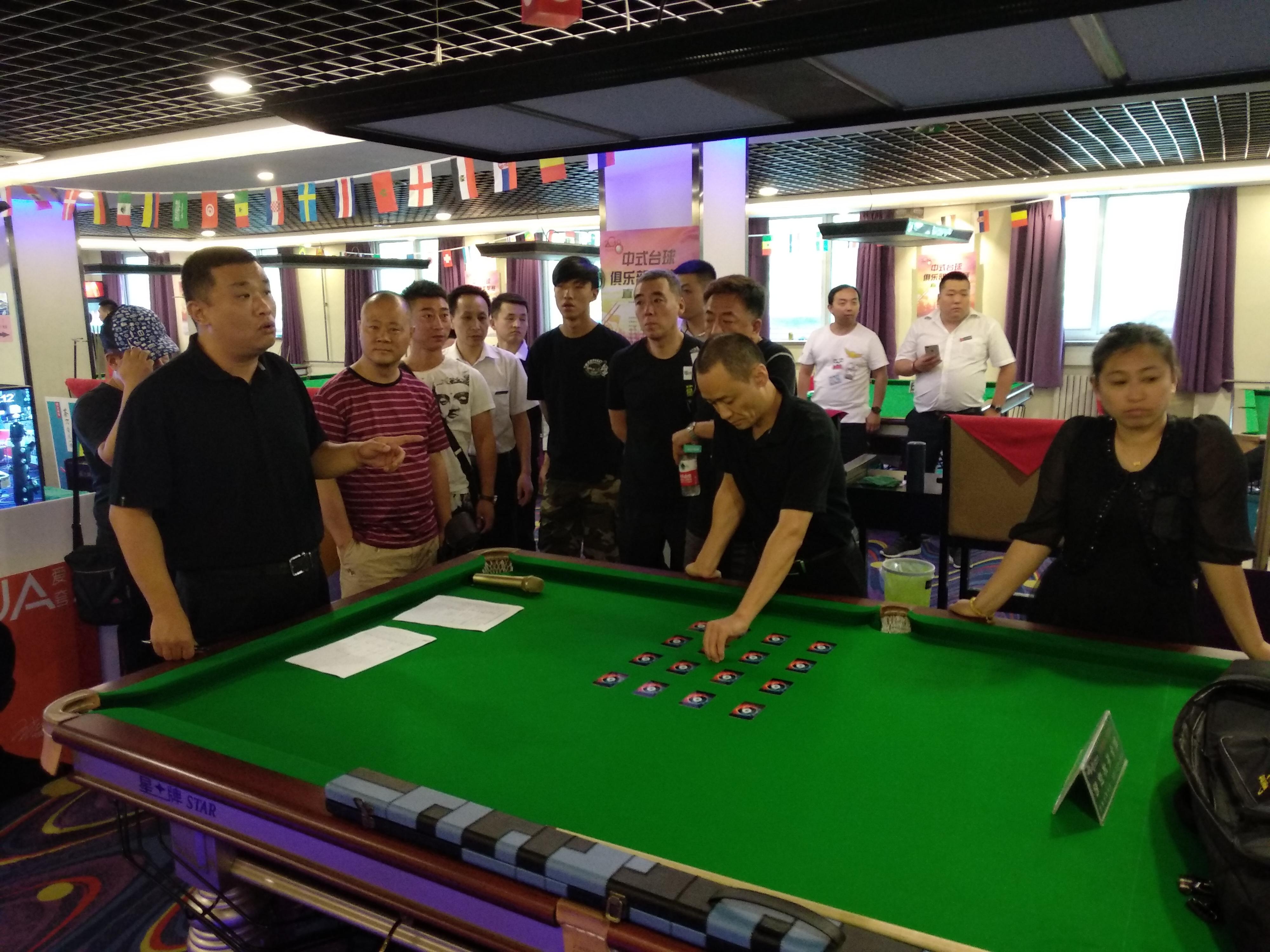 【Star Alliance】Beijing Anzhen Billiards Club_Xingpai League Ball Room