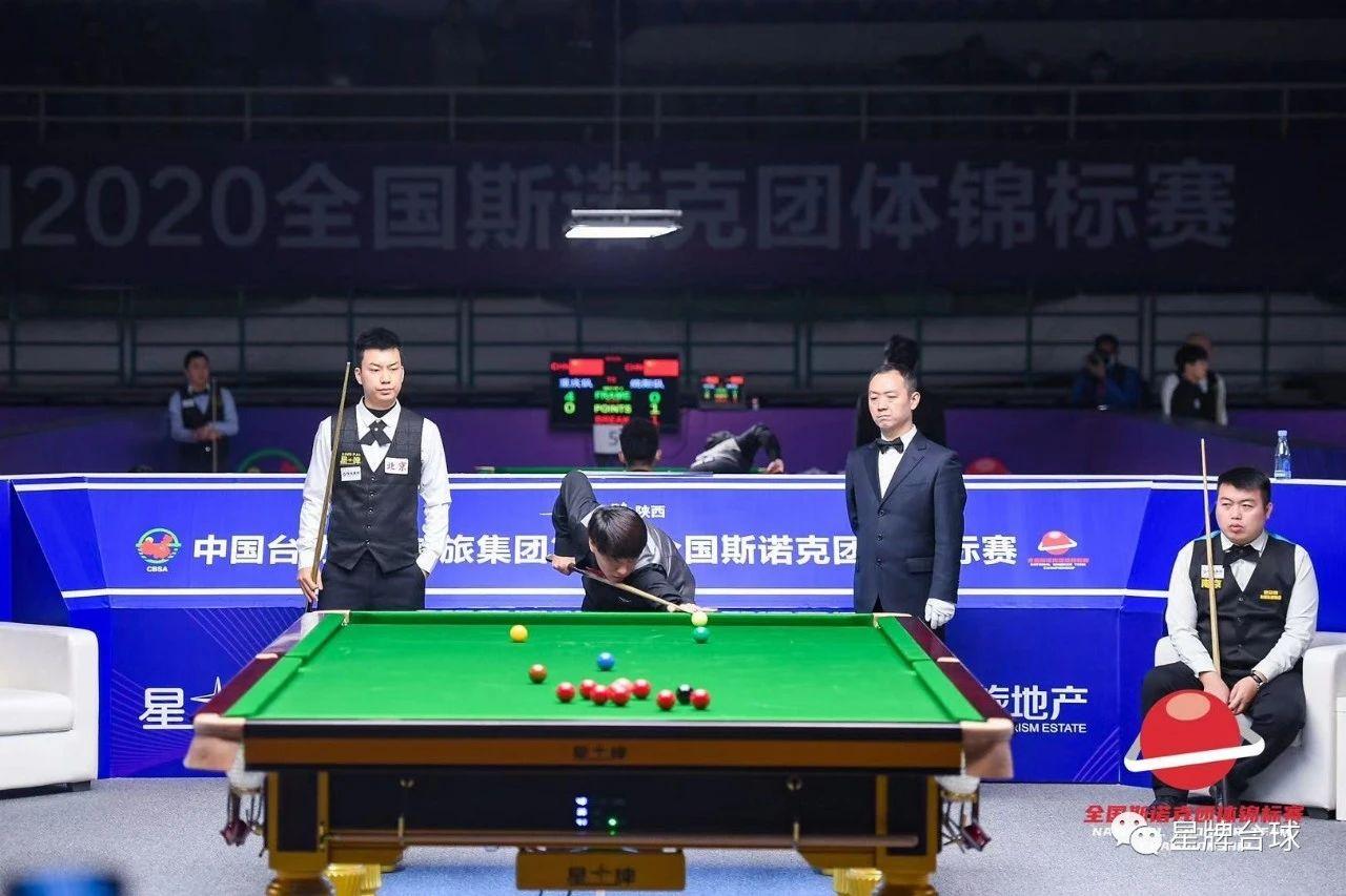 全国斯诺克团体锦标赛第二日:北京台协星牌队喜获两连胜 提前出线